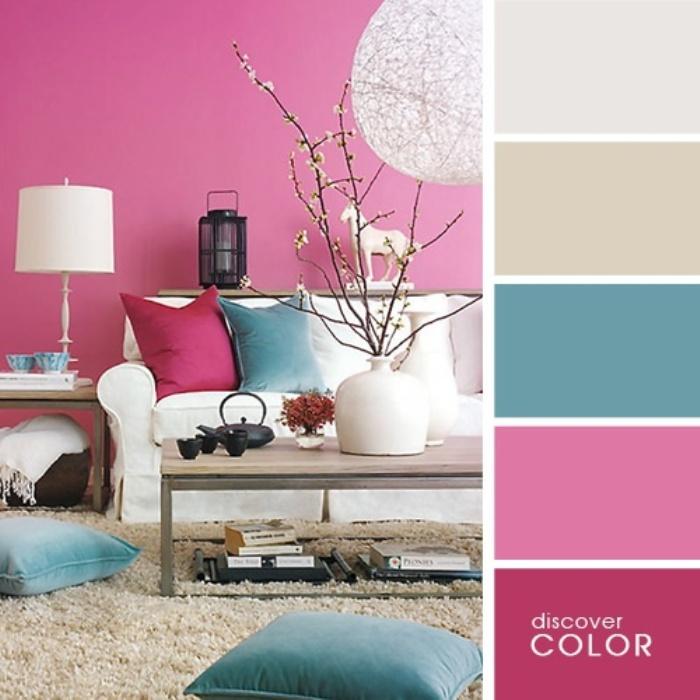 Сочетание белого цвета с другими цветами в интерьере кухни